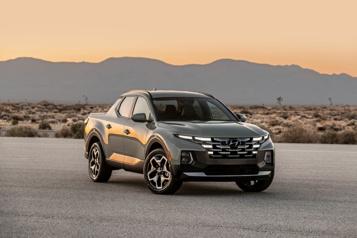 Hyundai Prix: le Hyundai Santa Cruz entre le Maverick et le Ridgeline)