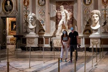 Les sculptures de la Galerie Borghèse retrouvent leur public)