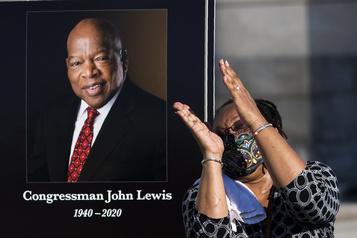 Trump évite tout hommage à John Lewis, figure des droits civiques)