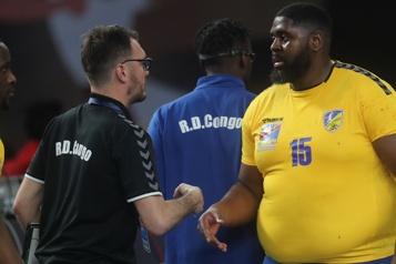 Mondial de handball Un joueur franco-congolais attire l'attention de Shaquille O'Neal )