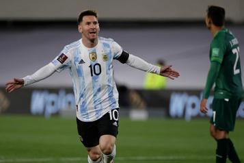 Coupe du monde2022 Lionel Messi à la tête de l'Argentine pour la suite des qualifications)