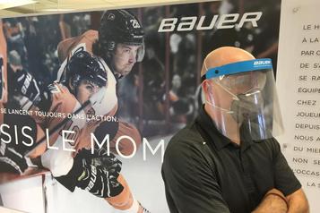 Bauer: des visières de hockey aux visières antivirus