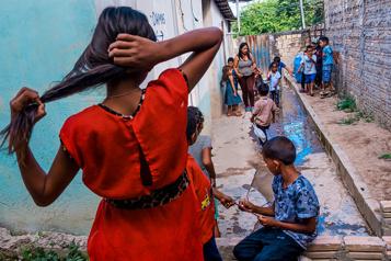 La Presse au Brésil Les naufragés vénézuéliens )