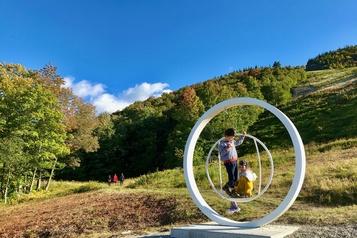 Faire du mont Orford une œuvre d'art)