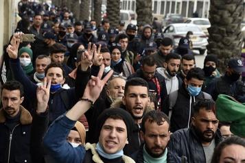 Algérie Retour des manifestations étudiantes, 18arrestations)