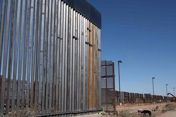 Frontière mexicano-américaine L'avancée du mur loin des promesses de Trump)