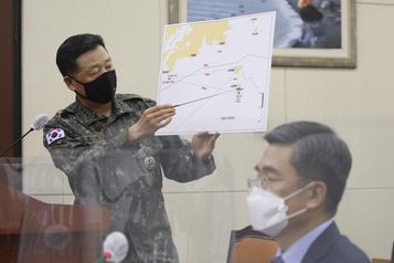 La Corée du Nord a abattu un Sud-Coréen dans ses eaux territoriales)