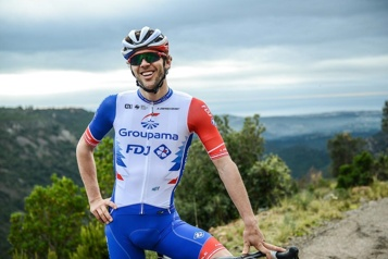 Antoine Duchesne termine son premier Giro)