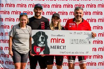 200 000$ pour Mira)