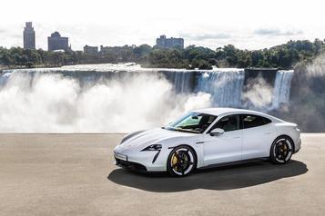 La Porsche Taycan Turbo S a une autonomie estimée encore moindre
