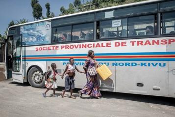 République démocratique du Congo Place à la réunification des familles après l'éruption du volcan Nyiragongo)