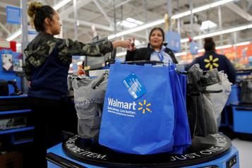 Walmart affecté par un ralentissement des ventes pendant Noël