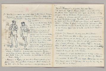 Verlaine et Rimbaud sur un dessin en vente chez Christie's)