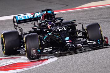Grand Prix de Bahreïn Une 95evictoire pour Lewis Hamilton)