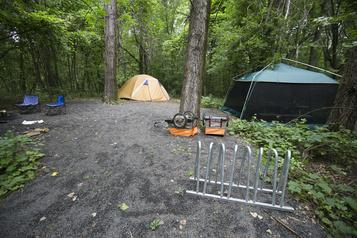 L'ouverture des campings bien accueillie)