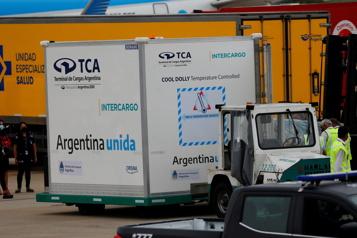 L'Argentine se plaint de retards de livraisons du vaccin russe Spoutnik V)