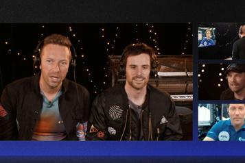 Coldplay lance sa nouvelle chanson avec un astronaute de l'ISS)