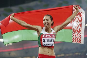Athlétisme Suspension de quatre ans pour Marina Arzamasova)