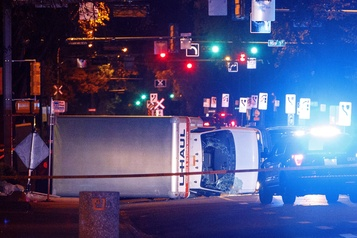 Attaque au camion-bélier à Edmonton: l'accusé écope de 28 ans de prison