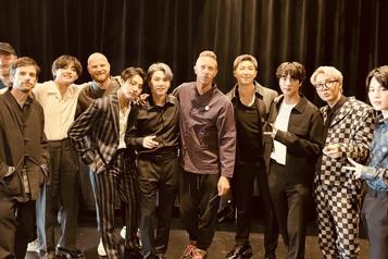 Coldplay et BTS lancent une chanson)