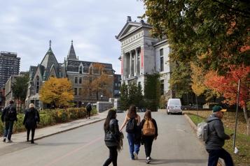 Un retour en personne à l'Université McGill cet automne)