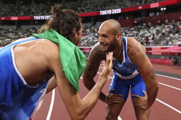Athlétisme La presse italienne salue ses «Dieux de l'Olympe»)