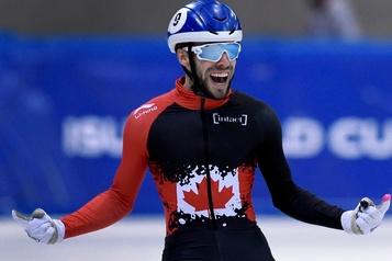 Courte piste: le relais canadien remporte l'or aux Pays-Bas