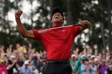 Le retour au sommet de Tiger Woods a marqué l'imaginaire