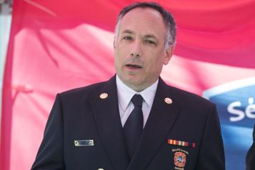Les pompiers de Montréal ont un nouveau chef)