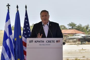 Visite en Grèce Mike Pompeo soutient «fortement» le dialogue en Méditerranée orientale)