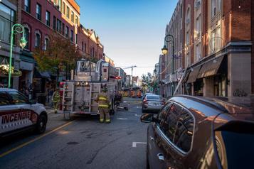 Explosion au centre-ville de Sherbrooke)