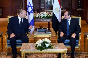 Une première en 10ans Visite du premier ministre israélien en Égypte)