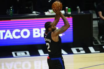 Série Clippers-Jazz Kawhi Leonard ratera le cinquièmematch)