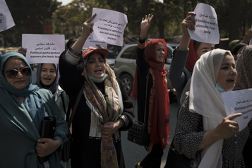 Afghanistan Les talibans seront obligés d'écouter les femmes, selon une militante)