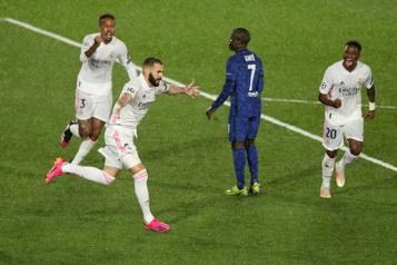 Ligue des Champions Un match nul de 1-1 entre Chelsea et le Real Madrid en demi-finale)