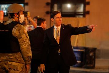 Manifestations: le secrétaire à la Défense ne veut pas déployer l'armée)