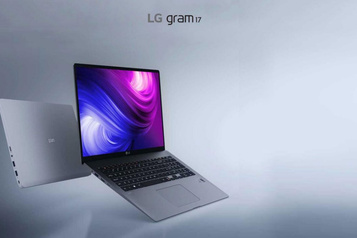 Testé: LG Gram 17, un ultraportable qui voit grand