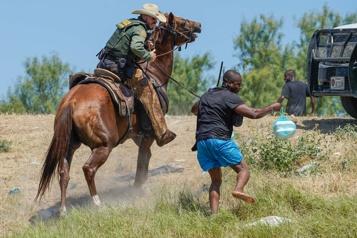 Migrants haïtiens au Texas Washington met le holà aux gardes-frontières à cheval )