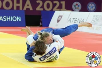 Judo Jessica Klimkait s'offre une médaille de plus)