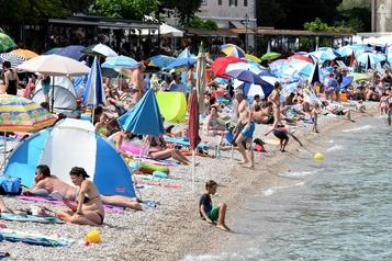 Moins de touristes en Croatie en juillet)