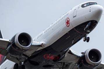 Ottawa autorise le Boeing737MAX à voler)