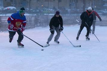 Moins de jours de patinage dans les villes originales de la LNH)