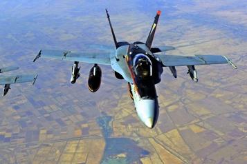 Syrie Des frappes américaines tuent 22combattants pro-Iran)