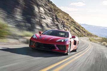 Chevrolet envisage de produire un multisegment électrique Corvette)