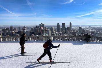 À fond dans le ski!)