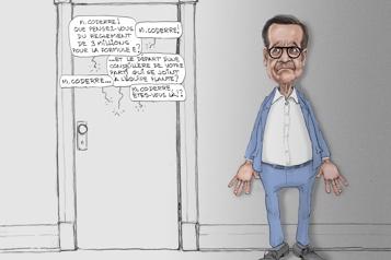 «M.Coderre, êtes-vous là?»)