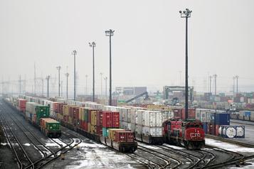 Les grands du rail, le CN et le CP, attendus en résultats affaiblis