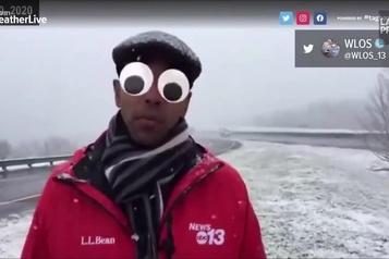 Un bulletin météo déjanté
