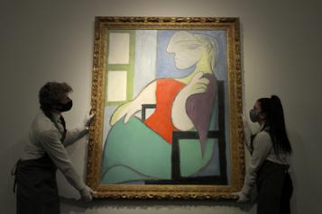 Un tableau de Picasso vendu 103millions)