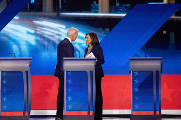 Harris-Biden: prochaine étape? Battre Trump)